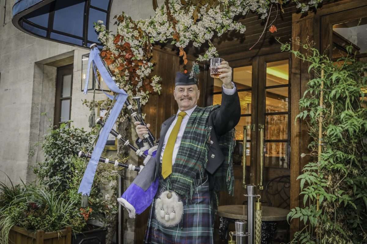 Corrigan's Mayfair Burns Night in London