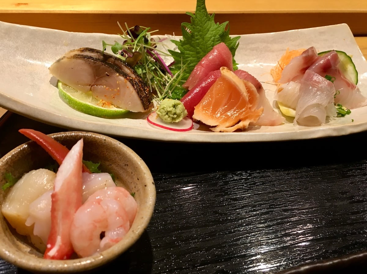 Sushi Tetsu Food