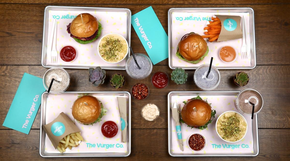 The Vurger Co burgers
