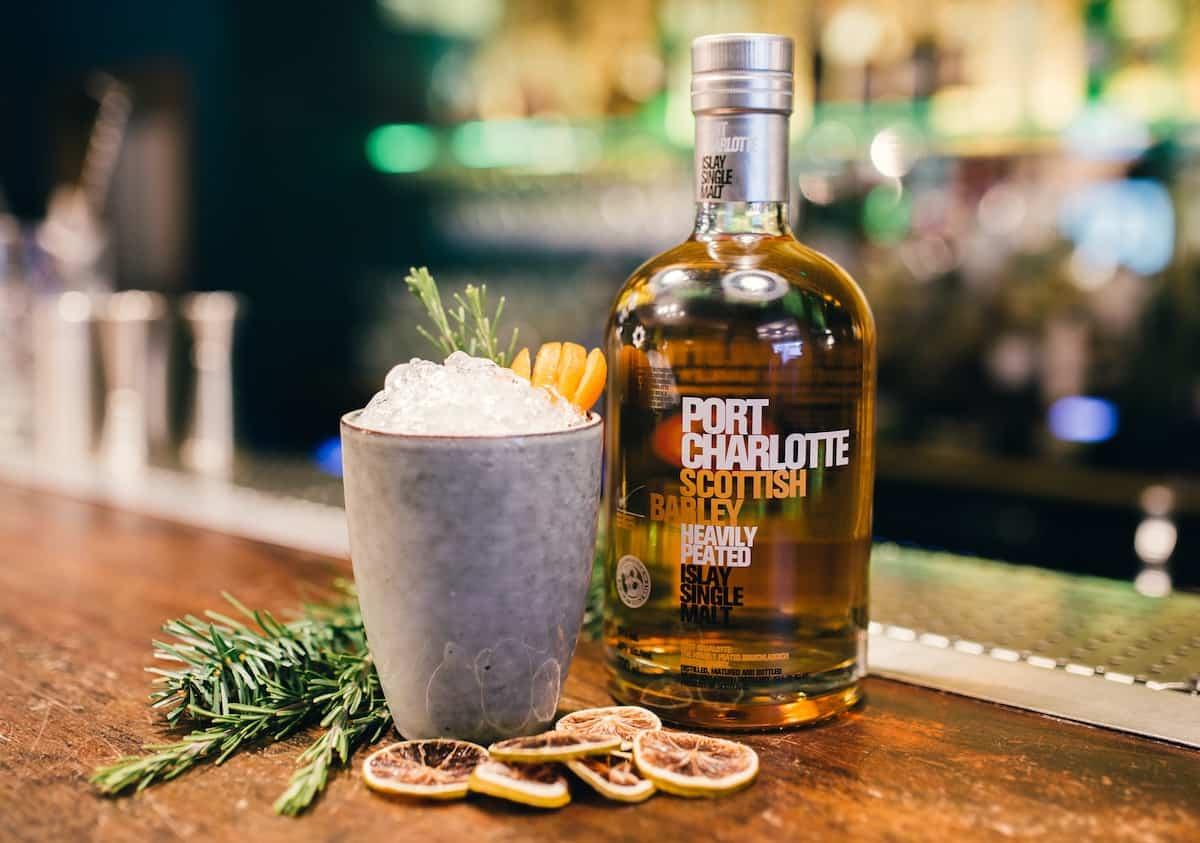 Spirit of the week bruichladdich port charlotte scottish barley single malt whisky - Bruichladdich port charlotte ...
