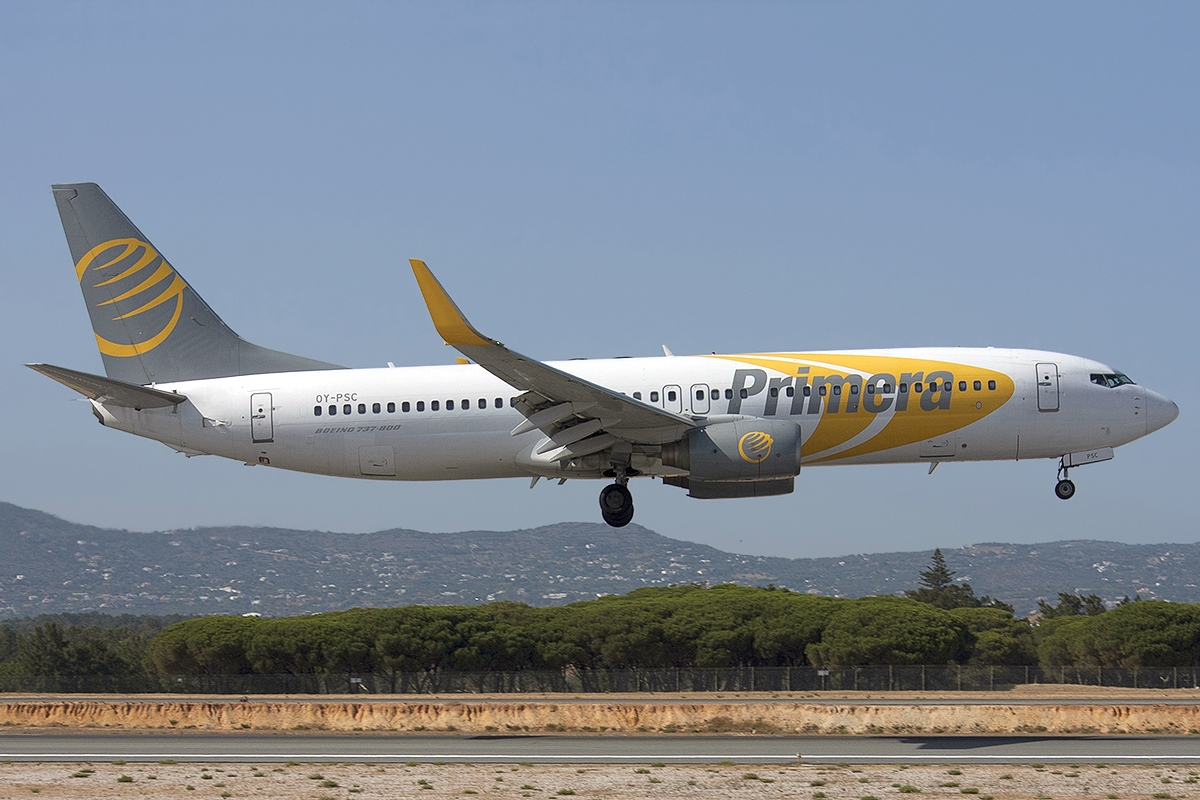 Primera Air launching Stansted to Washington route