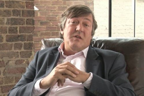 Stephen Fry announces he's in recovery for prostate cancer