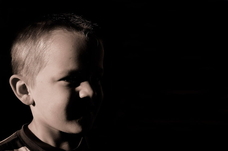 Young Face Child Boy Abuse Fear Depression Kid