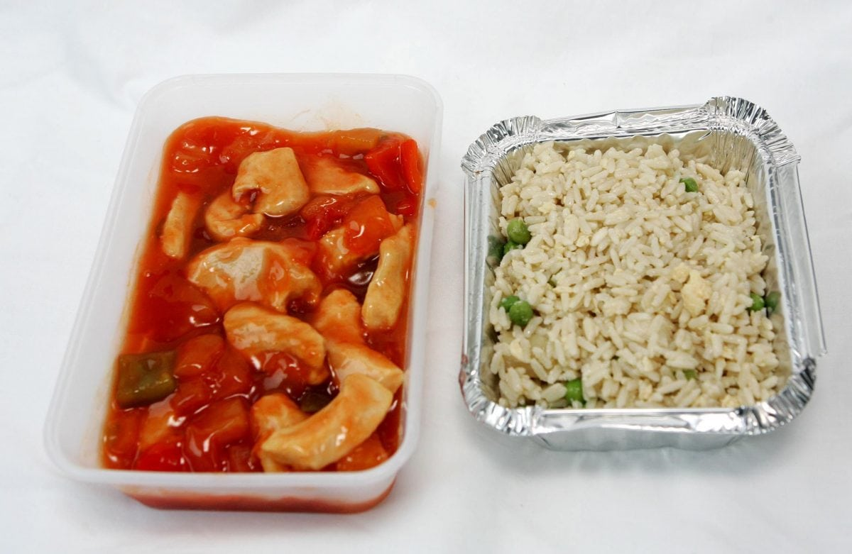Chinese Takeaways should Carry Health Warning Labels