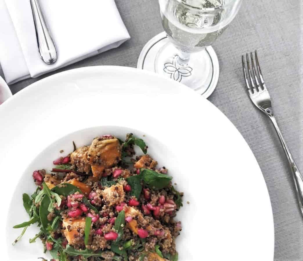 Quinoa, Fennel & Sweet Potato Salad   Photo Credit: @Home.with.harper