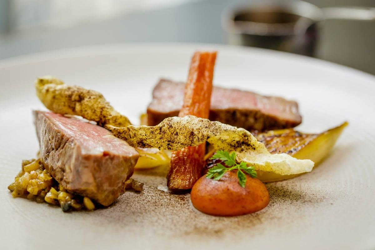 Roux at Parliament Square pork