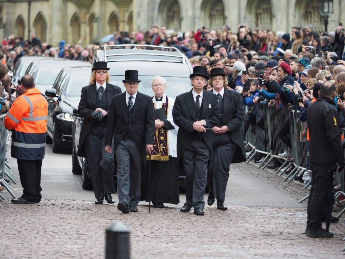 Stephen Hawking's Funeral Held