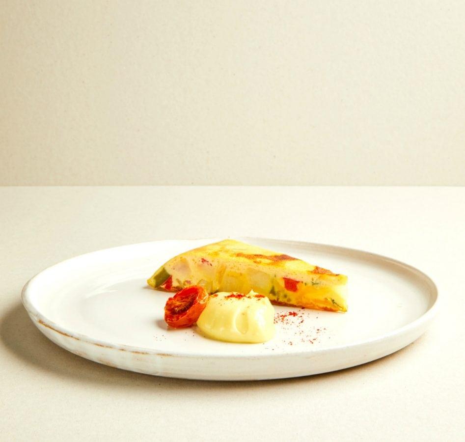 Tate Picasso Menu Spanish Tortilla | Photo - Katie Wilson