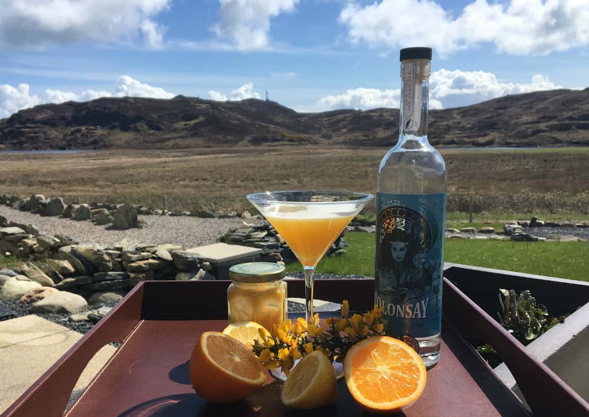Colonsay Gin Bees Knees