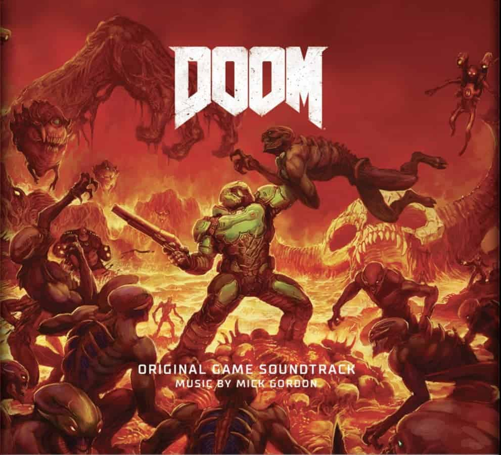 Doom soundtrack rips and tears onto blood-red vinyl
