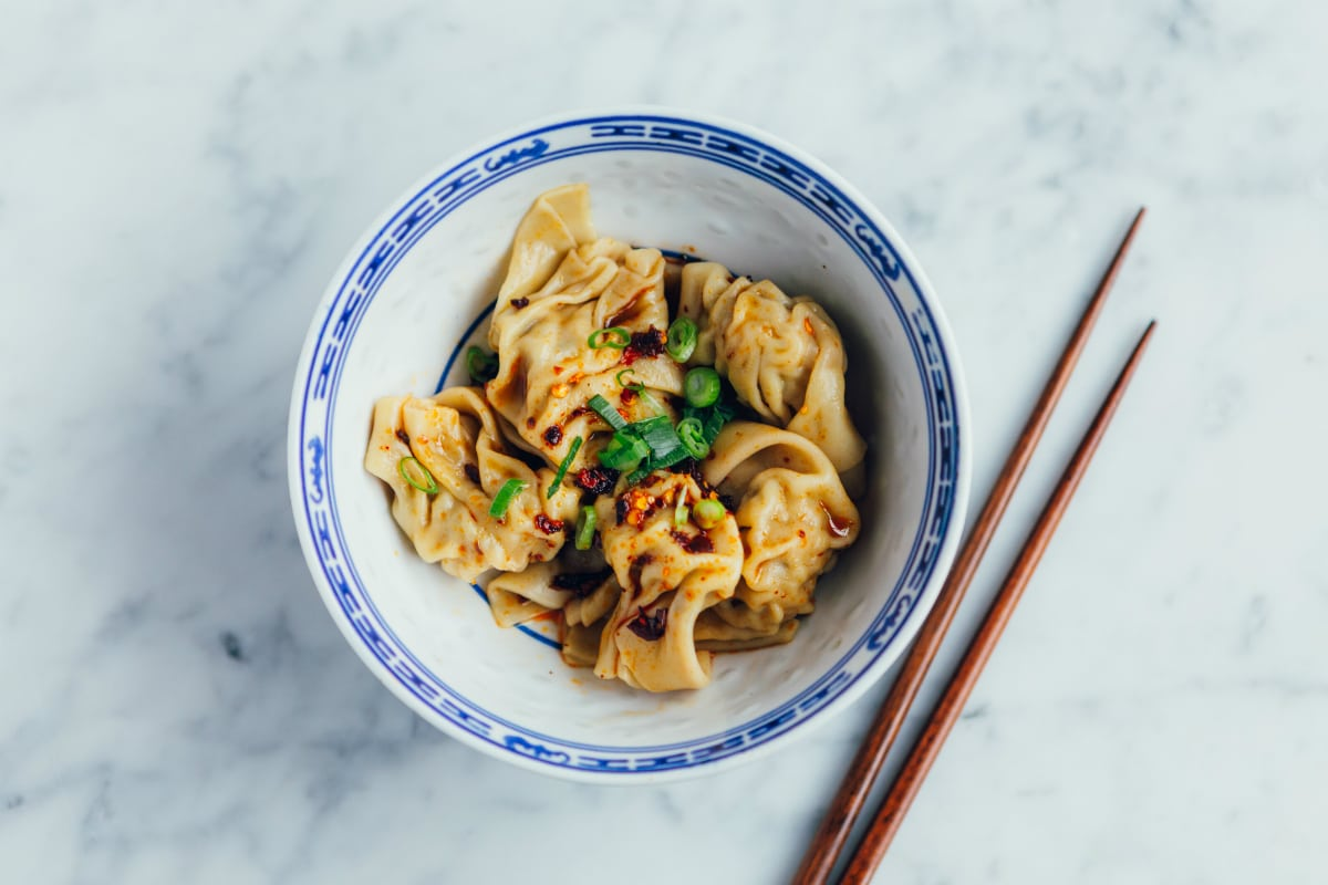 Poon's 'Wontons tossed in Red Chili Oil'