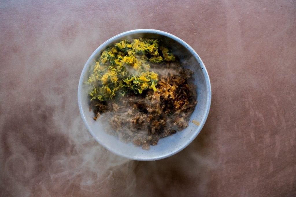 London's best Restaurants reopening 17th May indoor dining  Ikoyi Smoked Crab Jollof Rice