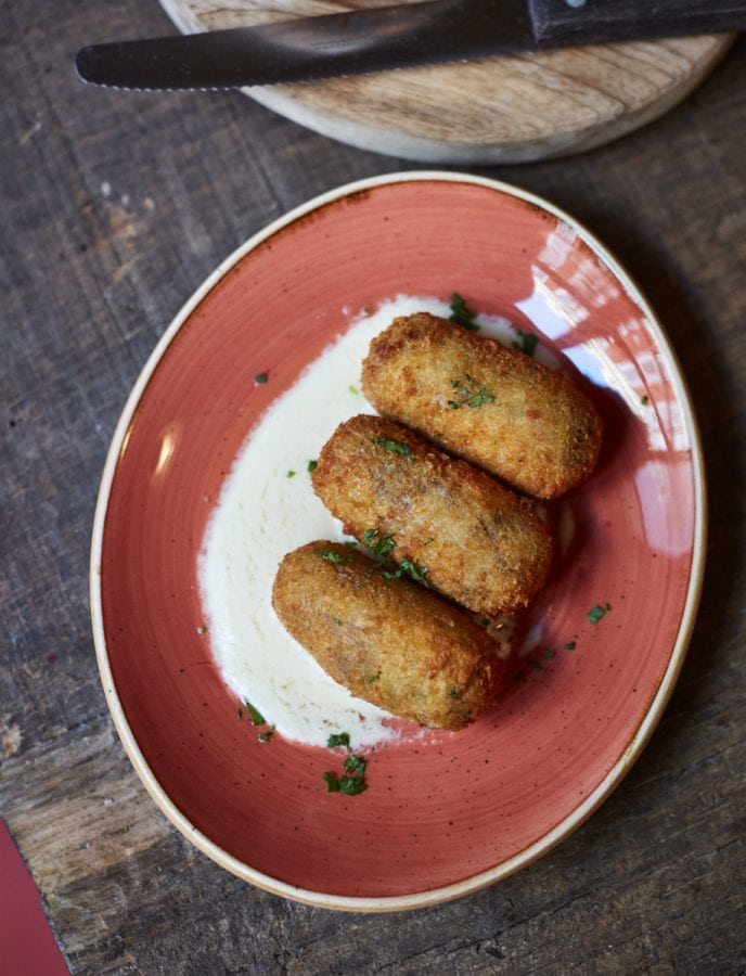 Sophie's Steakhouse Soho Rib croquettes