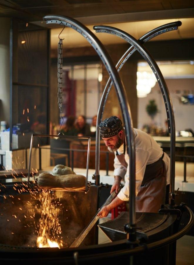 Sophie's Steakhouse Soho Firepit