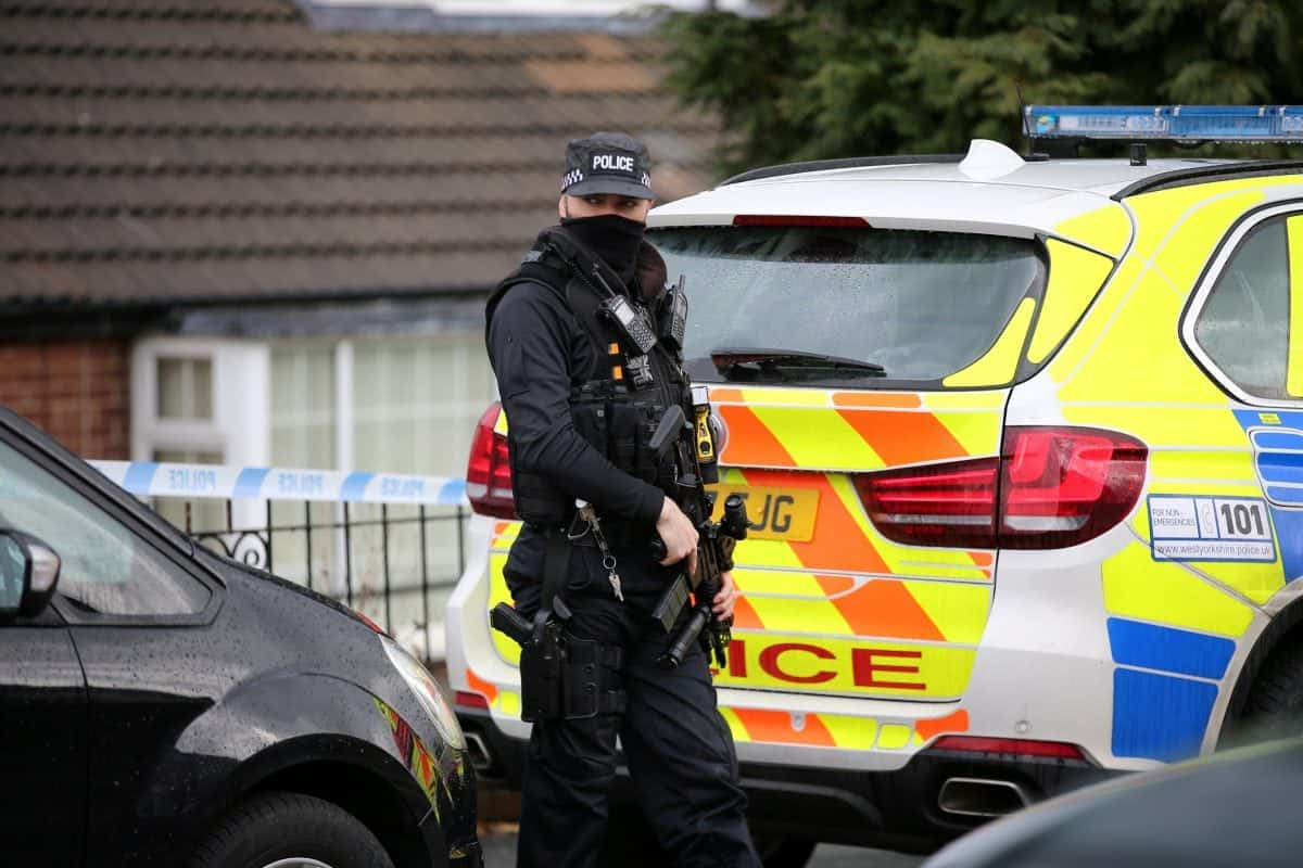 Two men arrested in West Yorkshire on suspicion of terror plot
