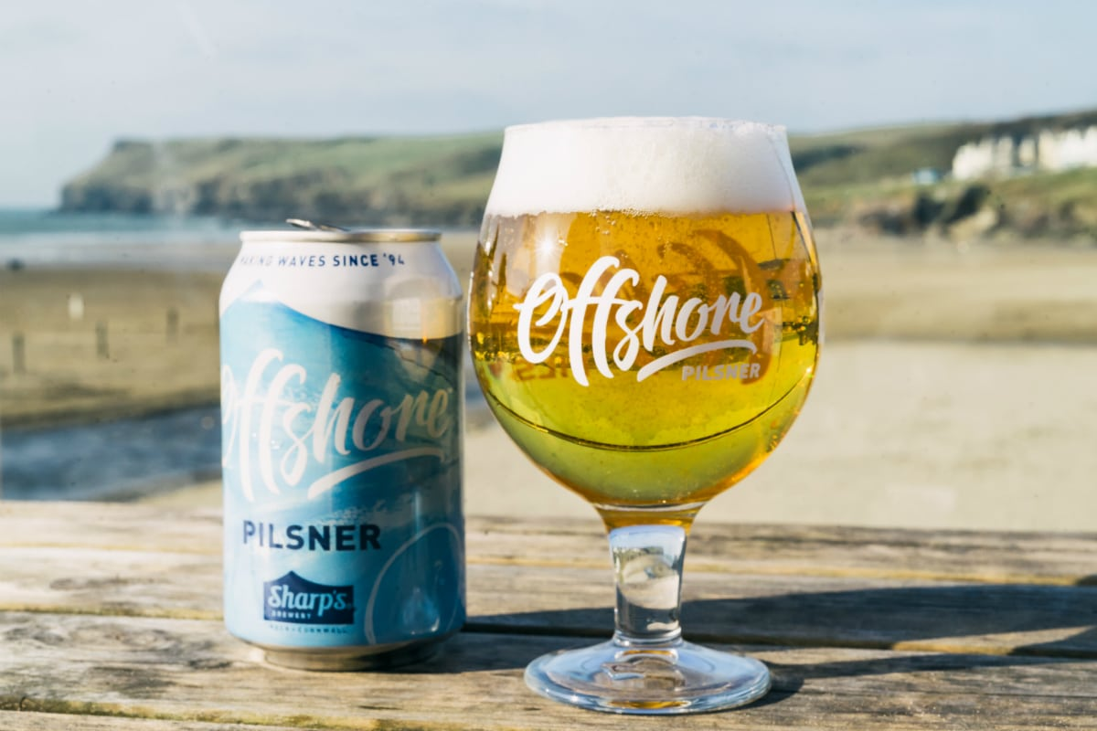 Sharp's Brewery Offshore Pilsner