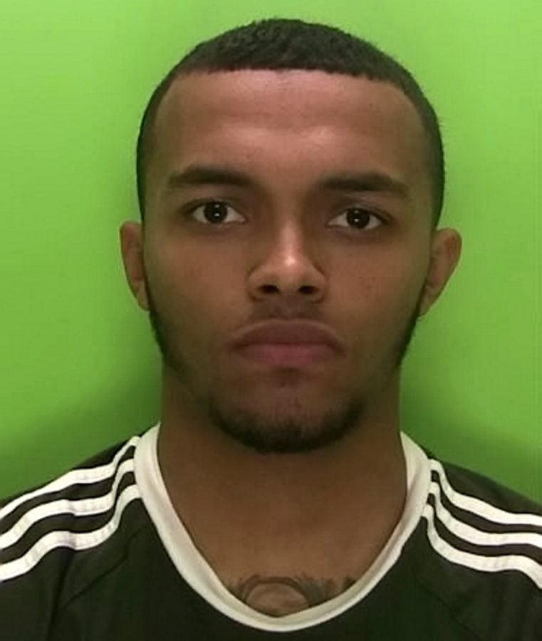 A former Nottingham Forest FC starlet has been jailed for five years after he was found with a loaded revolver following a police chase.  Luke Thomas, 20, crashed a van following a pursuit with officers before throwing the loaded gun into a nearby garden on June 10 last year.  A court heard the promising footballer had turned to a life of crime after a knee injury put an early end to his career.