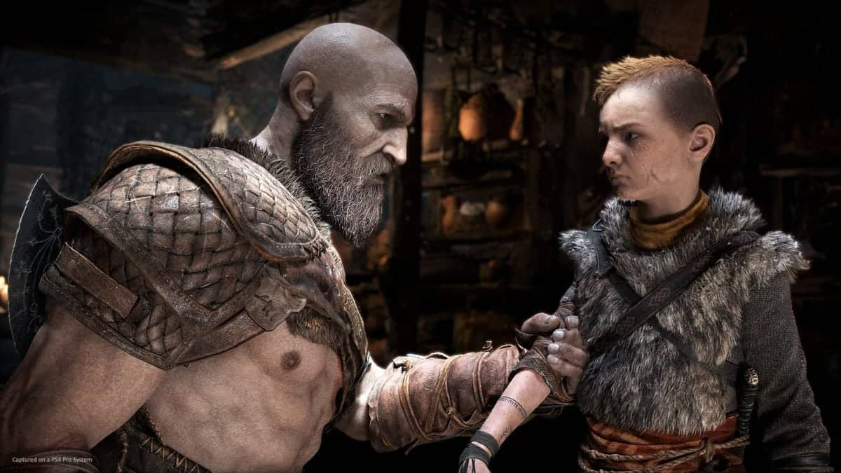 God of War photo mode finally lets Kratos smile and take selfies
