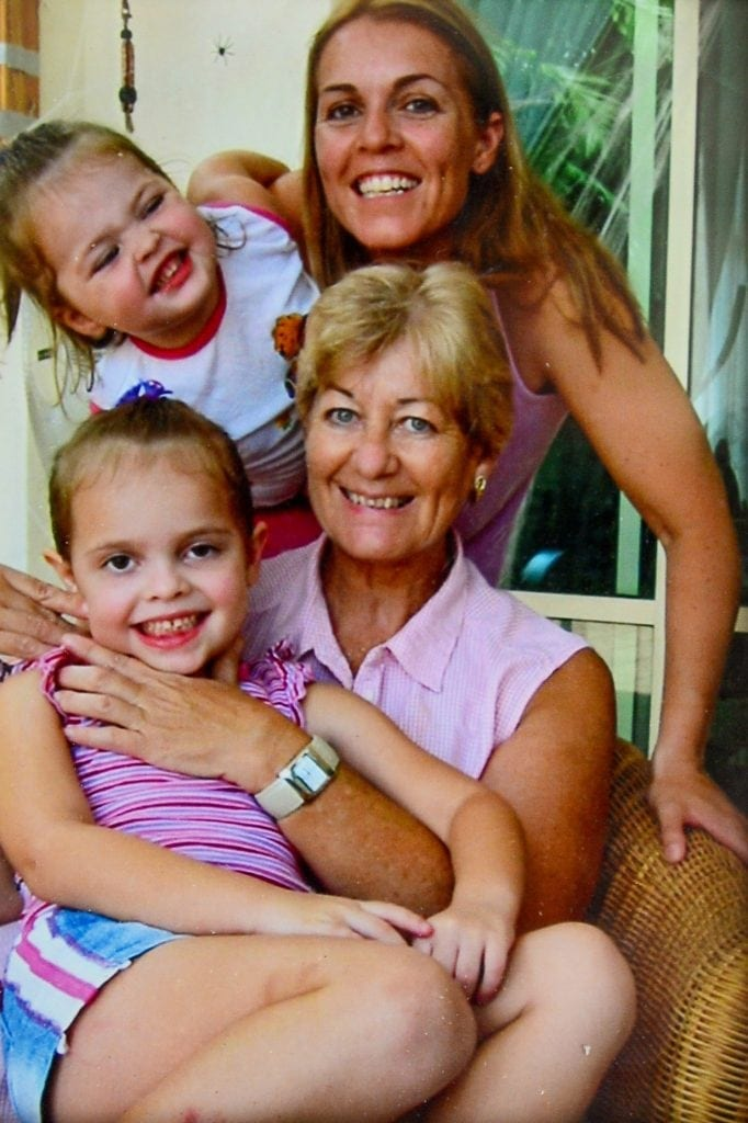 "Collect of Brenda with the daughter Candice and her 2 grandchildren in Singapore. See NTI story NTIROYAL. A grandmother who is 18th cousin of the Queen is facing being deported back to South Africa after she was refused a visa to live in the UK. Brenda Ackerman, 71, traced her family tree back to the 12th Century which revealed her to be a distant relative of King John James 1st and Robert the Bruce. Mrs Ackerman was born in South Africa but fled in 2006 with her husband Brian after a string of burglaries. They moved to Dubai to be with their daughter Candice Gordon, 45, before finally settling in the UK in 2013 following the death of Mrs Ackerman's husband Brian. Last February, Mrs Ackerman applied for a long-term visa but it was turned down, despite her suffering from a pulmonary embolism and being in failing health. Mrs Ackerman's daughter has been granted permission to remain in the UK but the widow has now been informed she will be deported unless she returns to South Africa voluntarily. Mrs Ackerman, who currently lives with her daughter in Worcester, said: ""My descendants were British."
