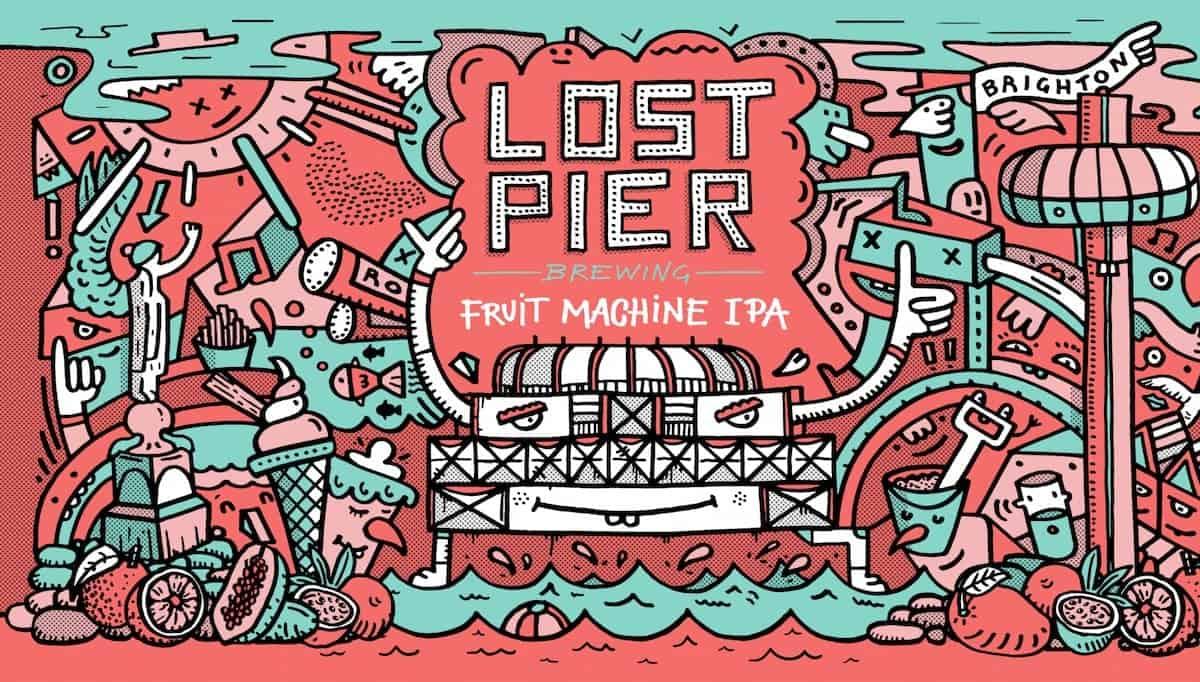 Lost Pier Brewing Fruit Machine IPA
