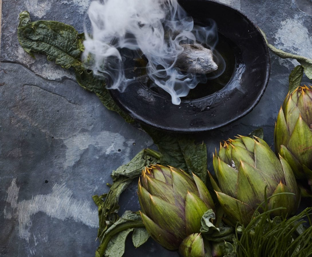 Rovi Artichokes and ember colour - best new restaurants