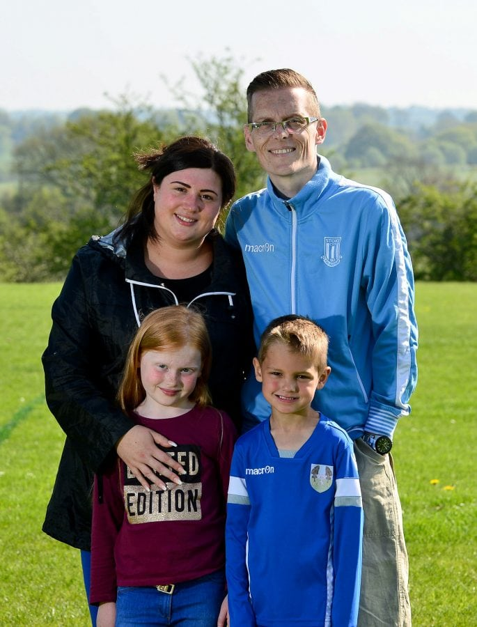 A Stoke City fan dying youth football manager so fed-up with pushy parents ruining the game has written up a new set of rules for the sport - ordering kids to play fair and have fun. Russ Powell, 37, of Sandyford, Staffordshire, is hoping to change attitudes towards children's sports after accusing competitive mums and dads of 'sucking the fun' out of youth soccer.