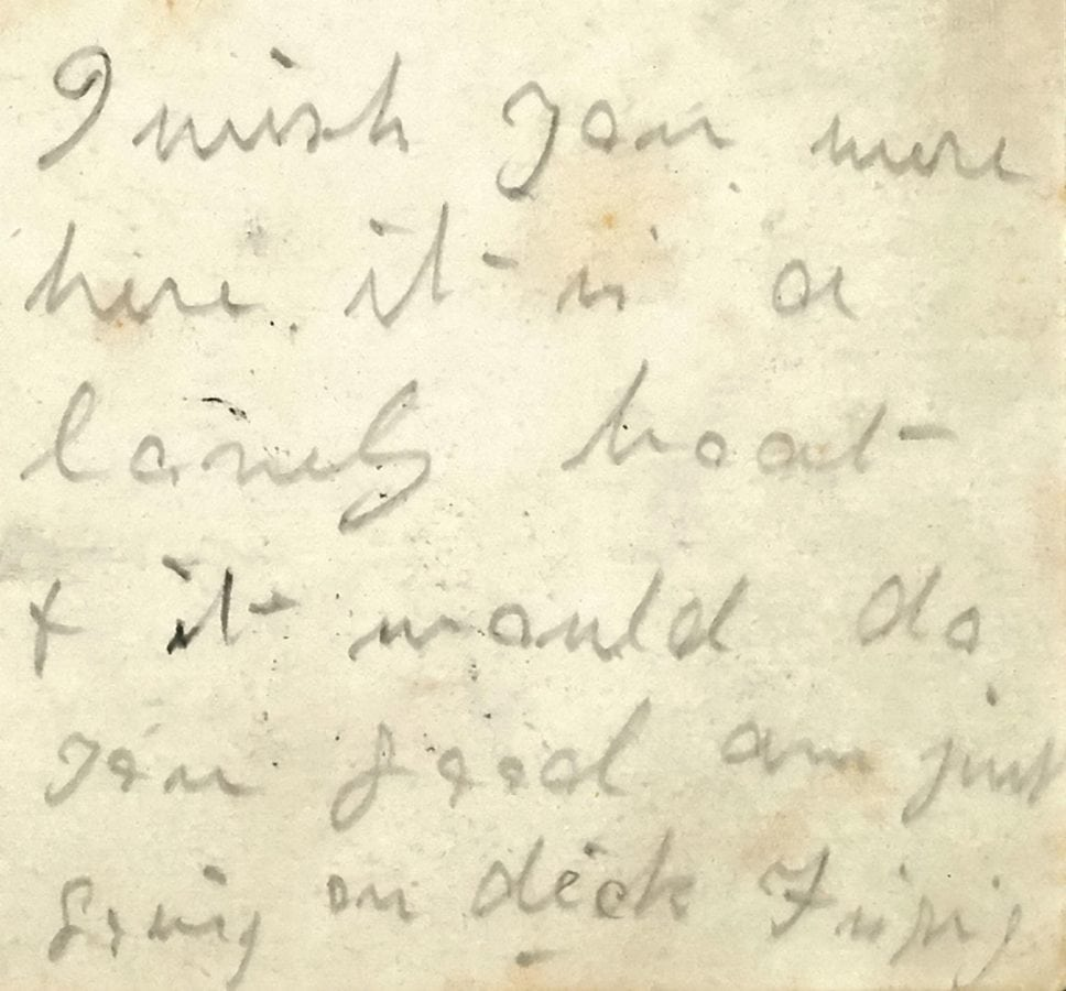 """A postcard written by a maid on the Titanic to a friend which said """"wish you were here"""" is expected to fetch more than £20,000 at auction."""