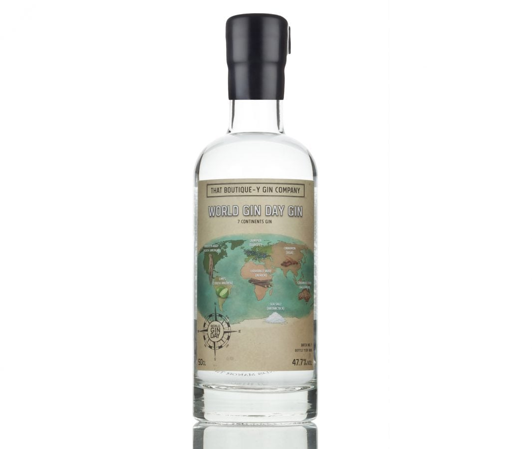 That Boutique-y Gin Company World Gin Day 7 Continents Gin