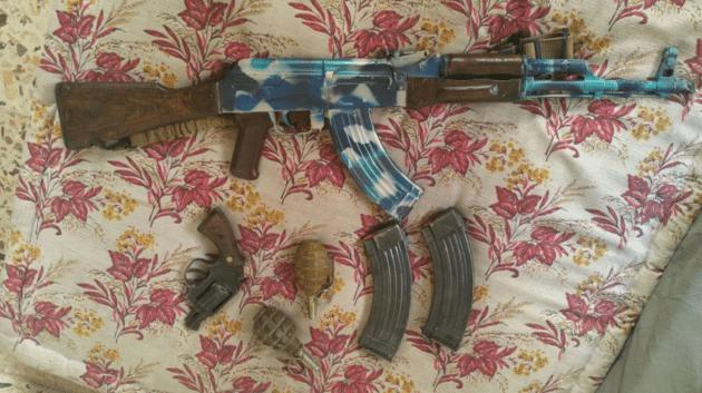 Hussain sent Boular images including guns c Met Police