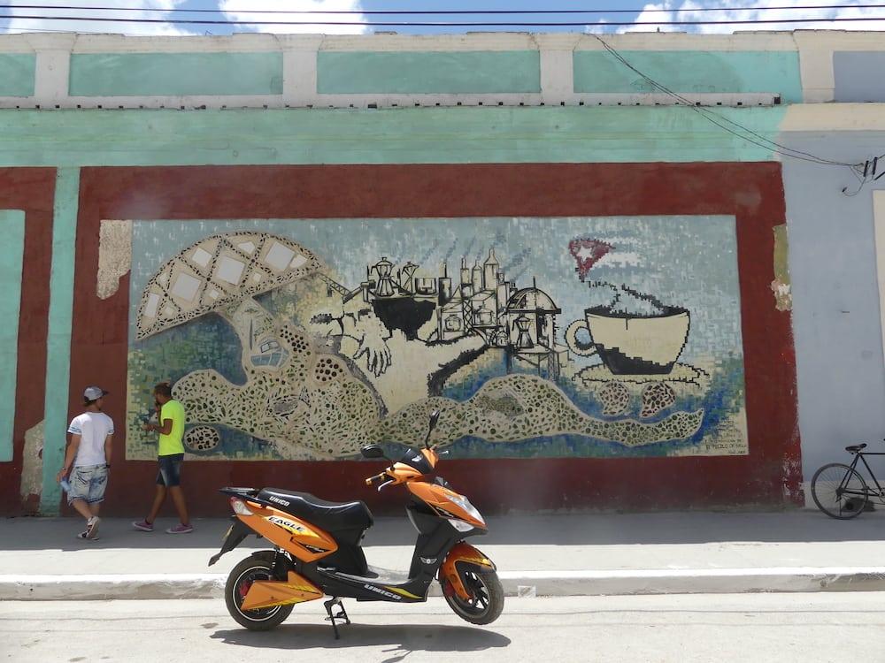 Mural at Sagua La Grande