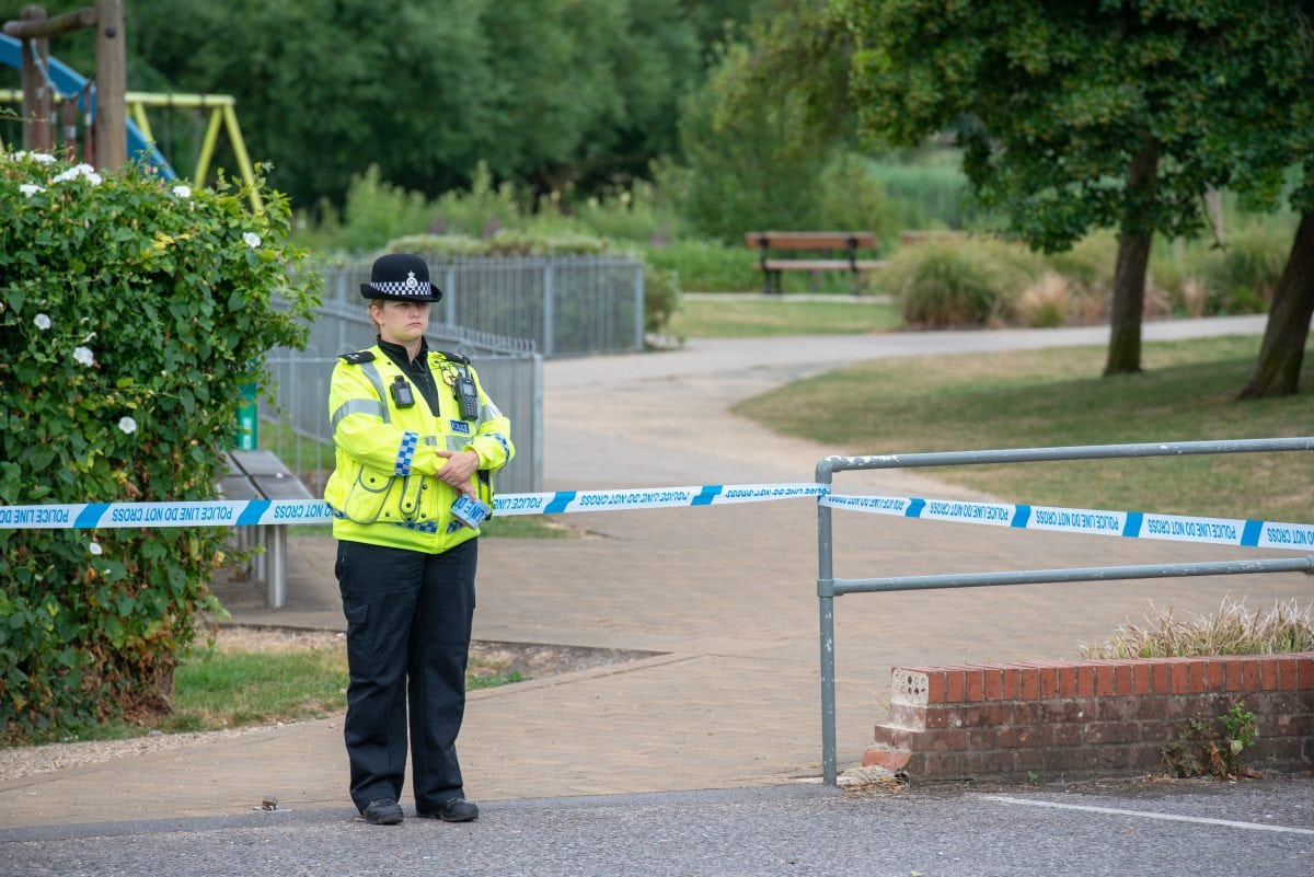 Police officer in poison sweep cleared after hospital check