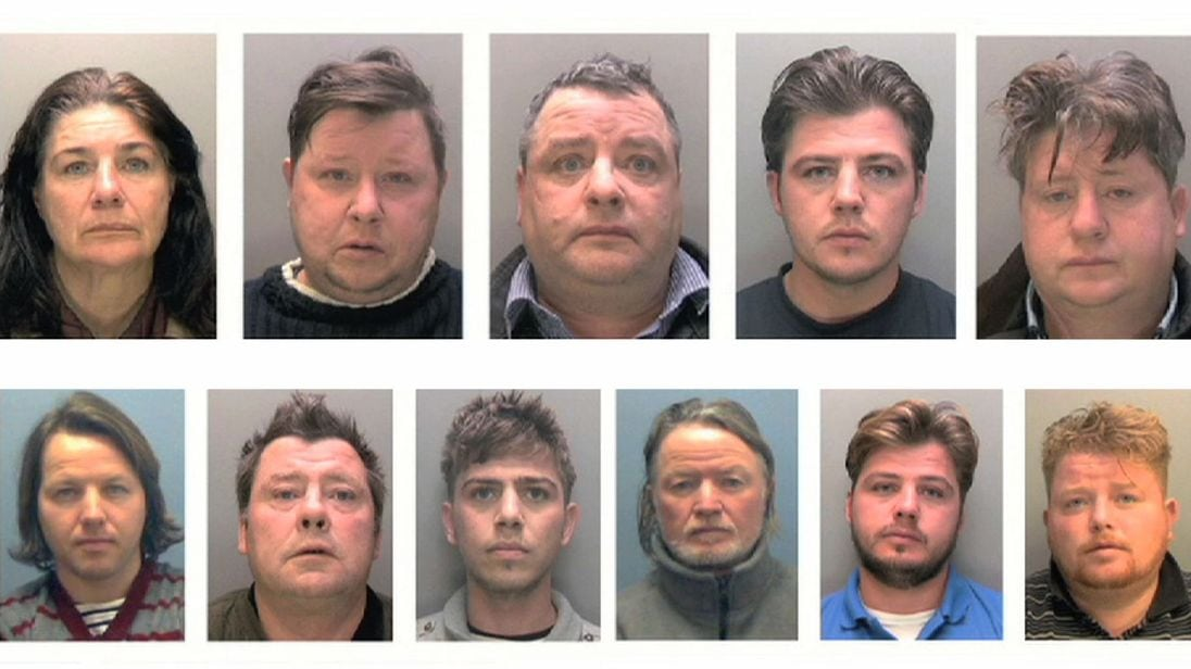 The Rooney gang were convicted for crimed of modern day slavery and fraud. Their luxurious lifestyle was in stark contrast to the abject conditions that the vulnerable people bullied into working for them lived in. (C) Lincolnshire Police