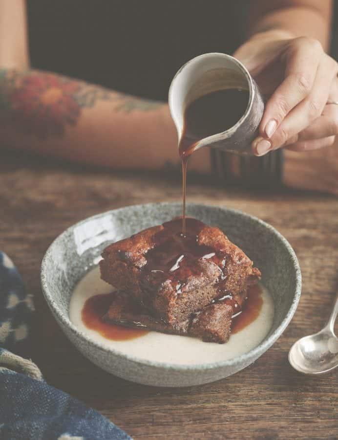 Gluten-Free Vegan Sticky Toffee Pudding