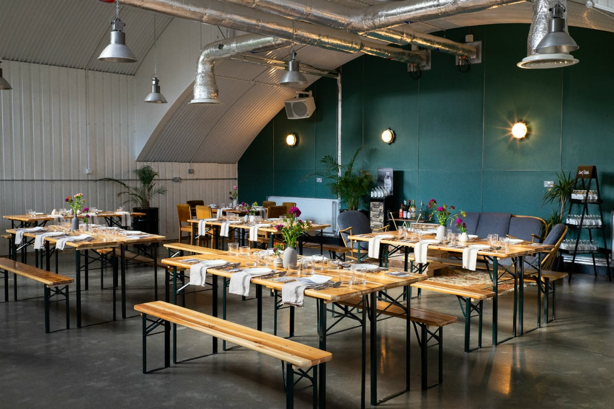 Ikoyi chef Jeremy Chan's Our/London Vodka dinner