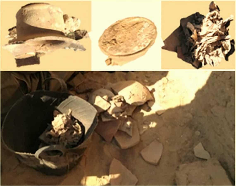 Hallan en una tumba egipcia el queso más antiguo del mundo