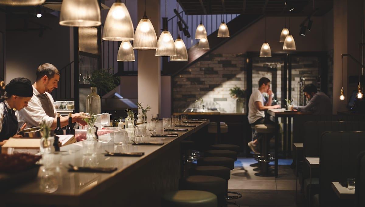 Bancone dining room | Photo: Jade Nina Sarkhel