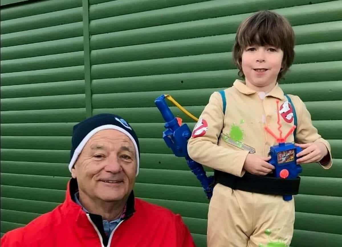 Little boy obsessed with Ghostbusters was overjoyed to ...