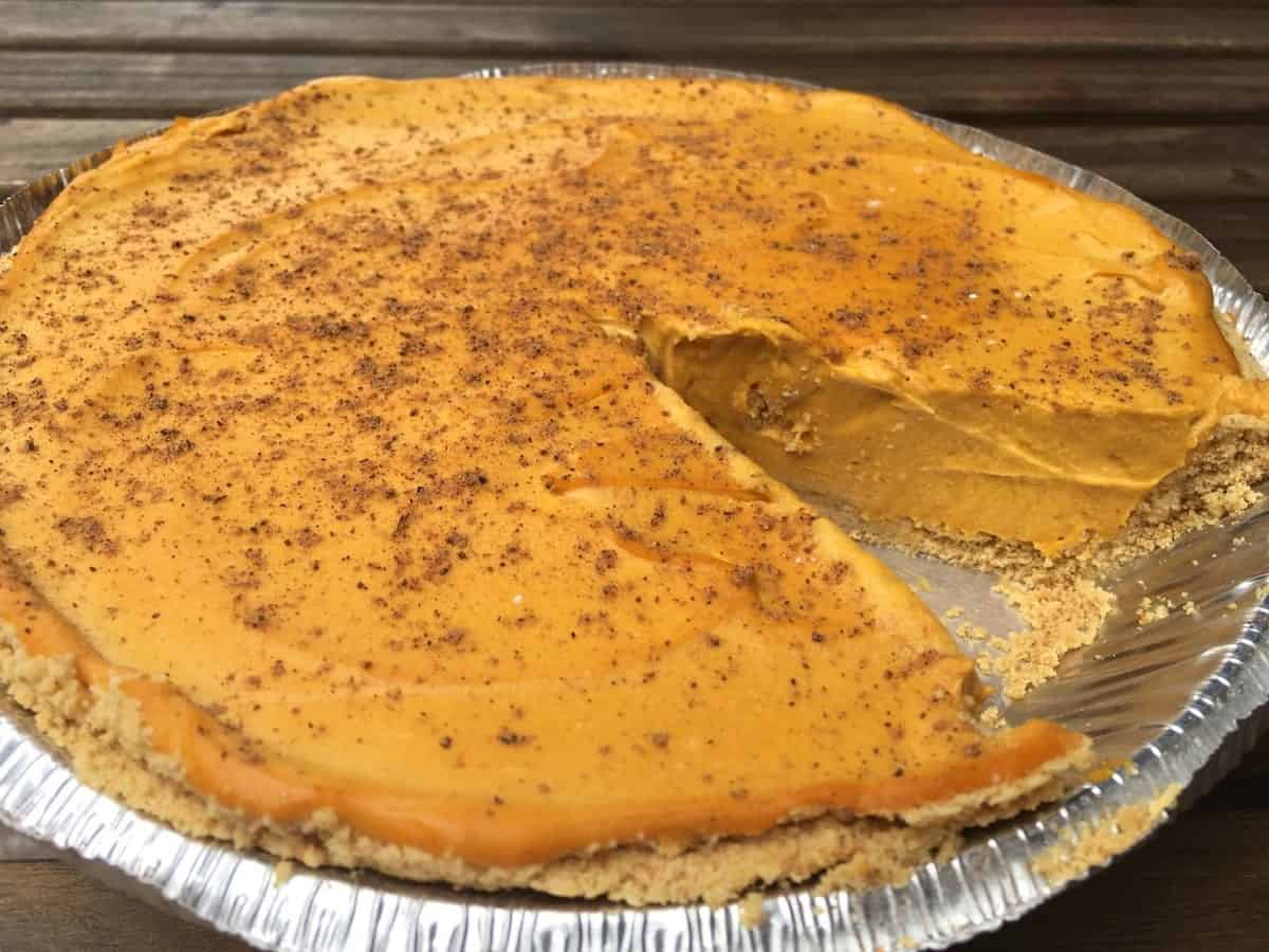 Rudy's Dirty Vegan Diner Vegan Pumpkin Pie