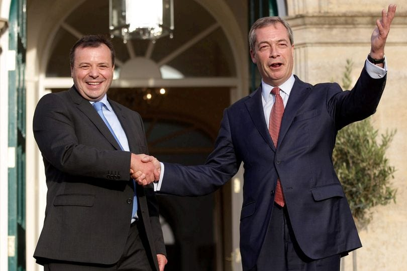 Arron Banks & Nigel Farage