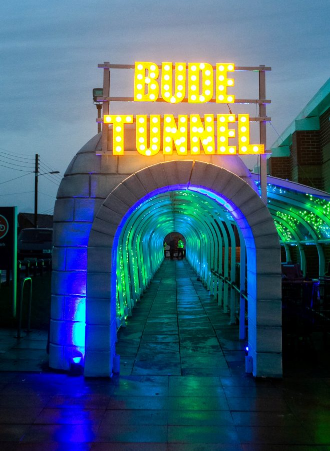 Britain S Unlikeliest Christmas Attraction The Tunnel In