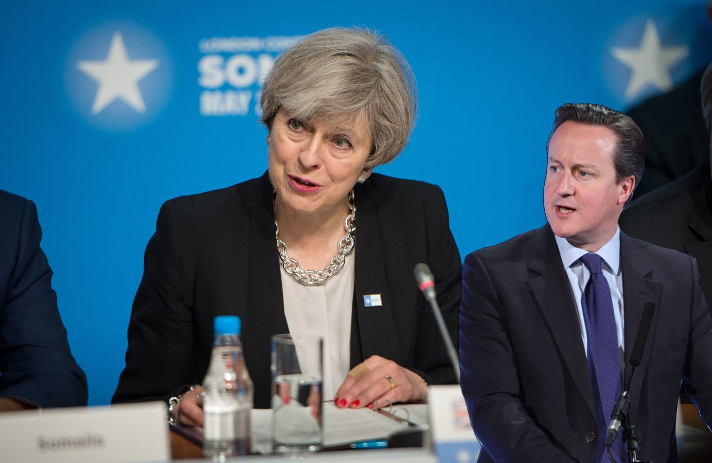 Theresa May is taking Brexit advice off David Cameron