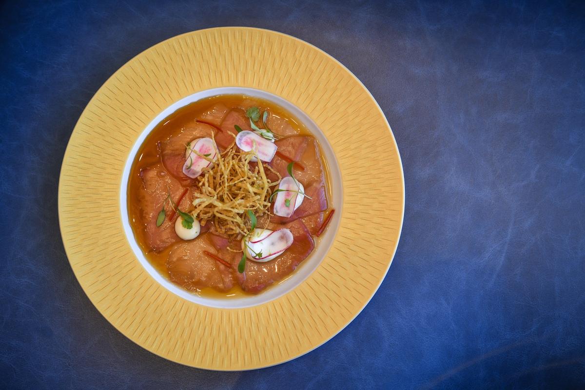 Tuna Carpaccio at Brasserie of Light