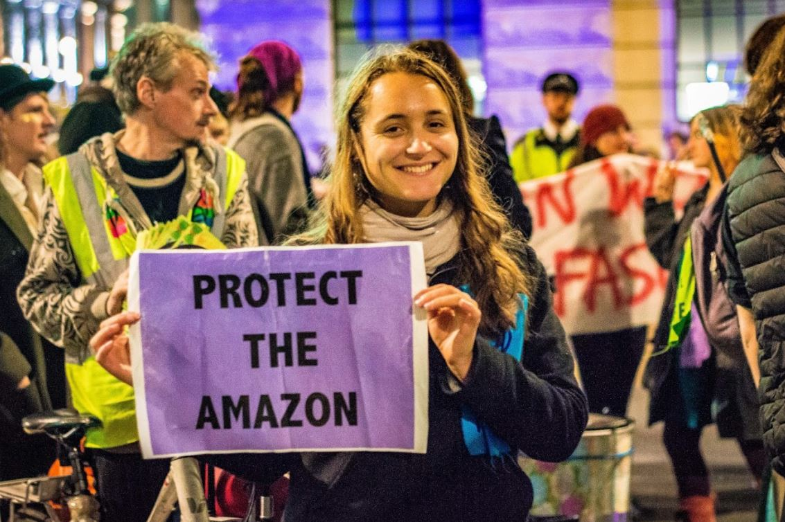 Queer Party For Amazon outside Brazilian Embassy (c) Snowflake Foxtrot / Extinction Rebellion