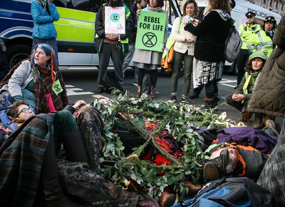 Extinction Rebellion Westminster (c) Francesca E Harris / Extinction Rebellion