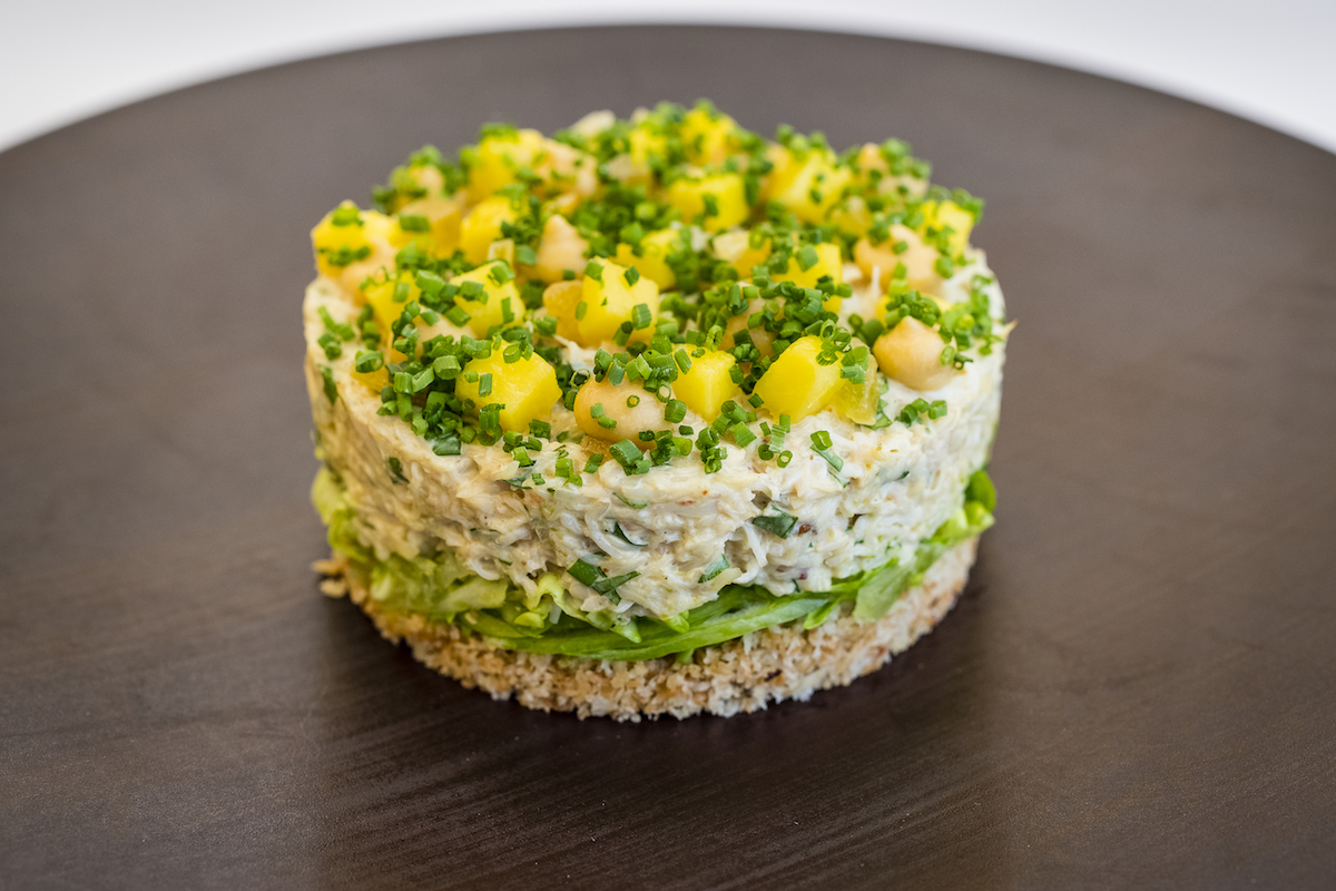 The Baptist Grill L'Oscar Coronation Crab Salad | Photo: Paul Winch-Furness