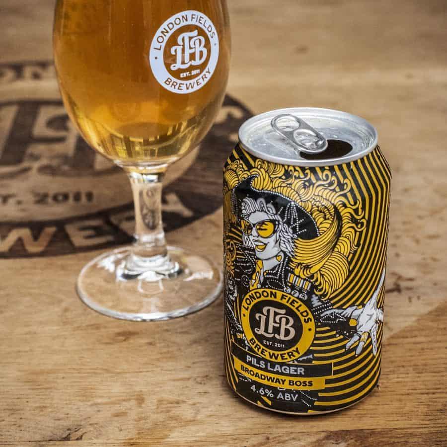London Fields Brewery Broadway Boss