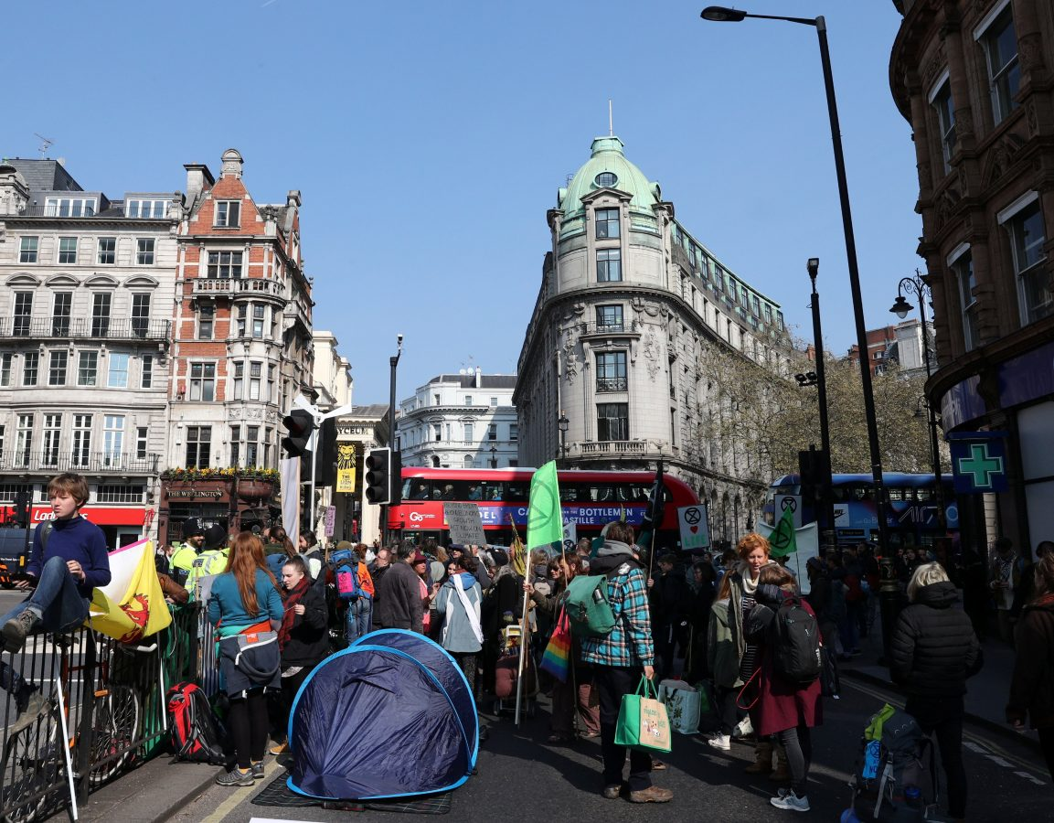 Global Extinction Rebellion (c) SWNS