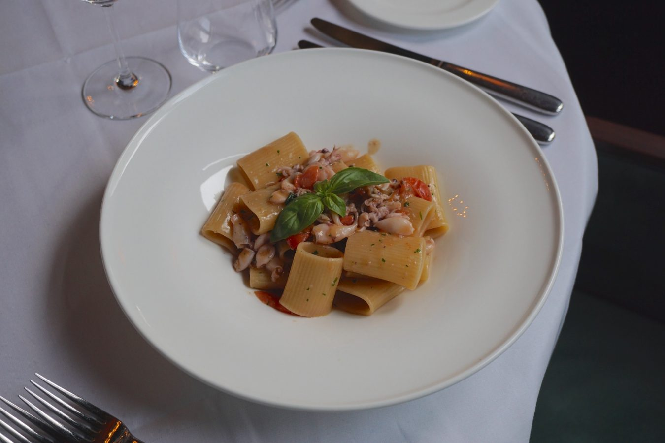 Santo Mare Seafood Rigatoni New Restaurant Openings