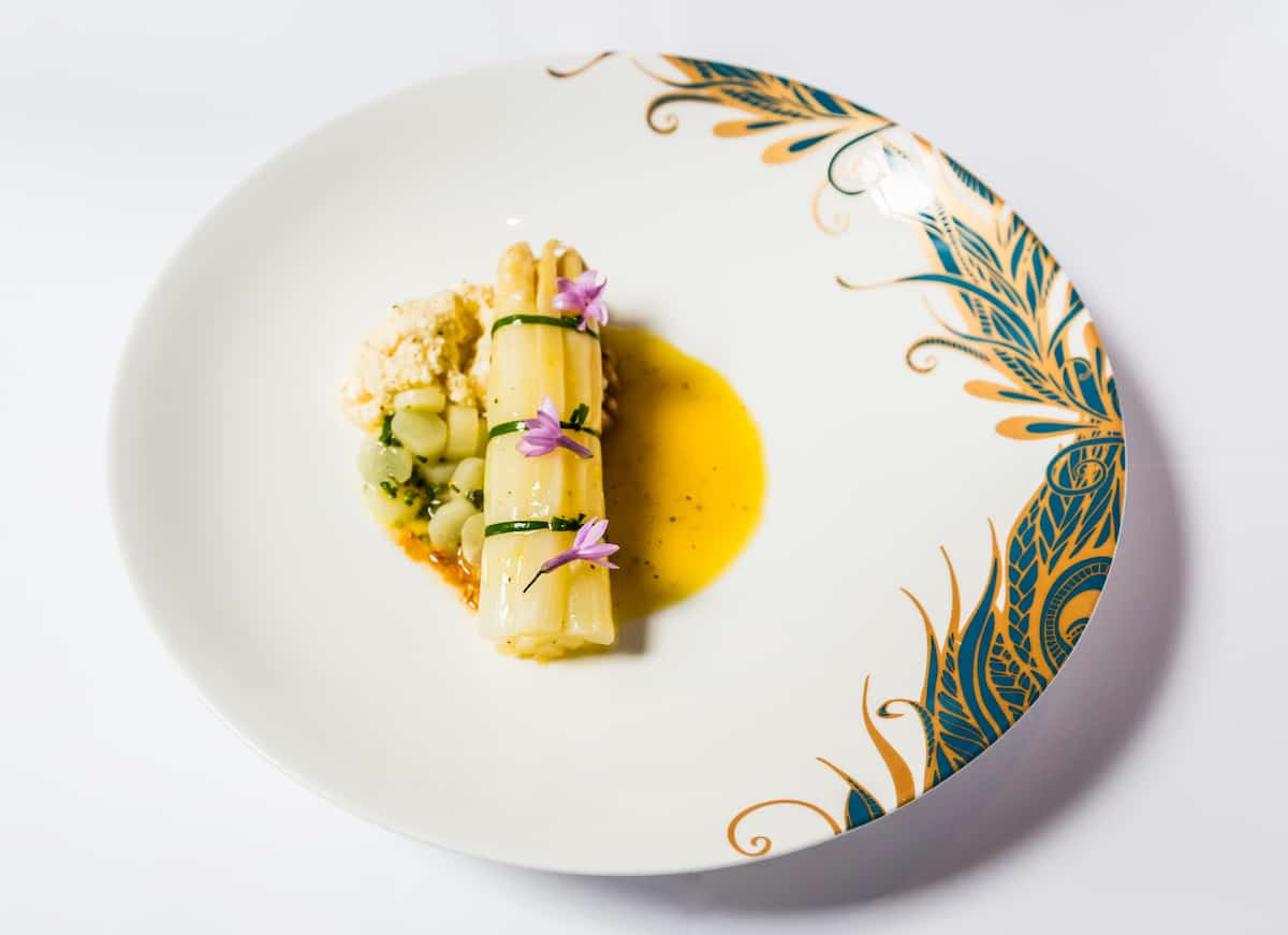 White Asparagus Baptist Grill Recipe L'Oscar