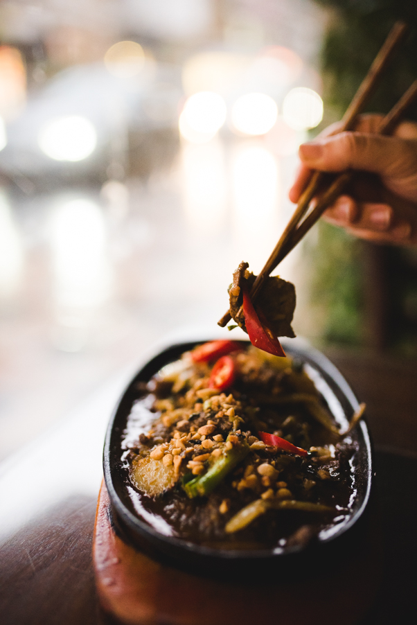 Mien Tay Stir-Fried Goat in Galangal